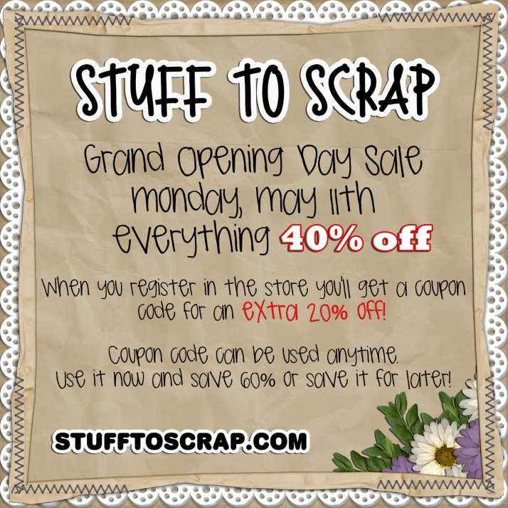 STS Grand Opening Sale